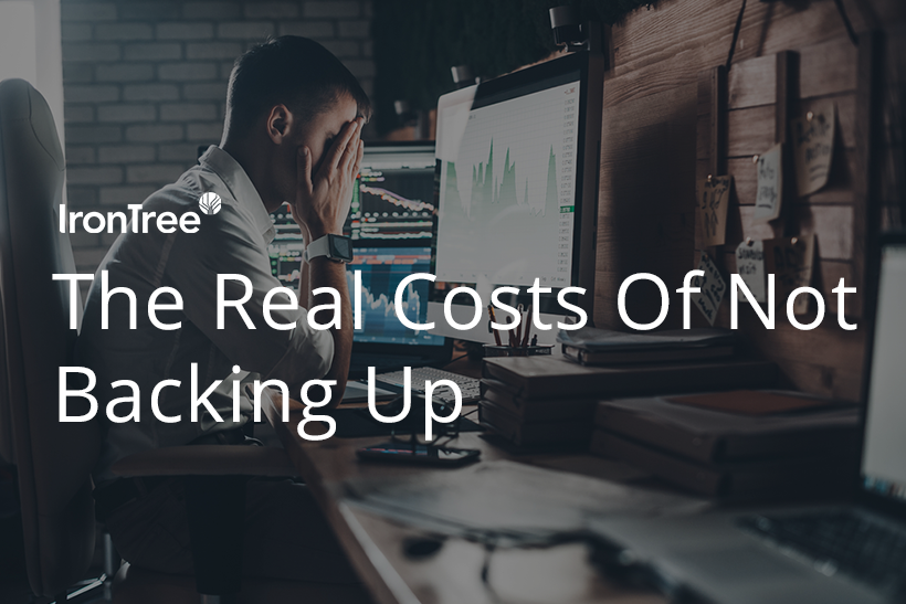 the real cost of not backing up