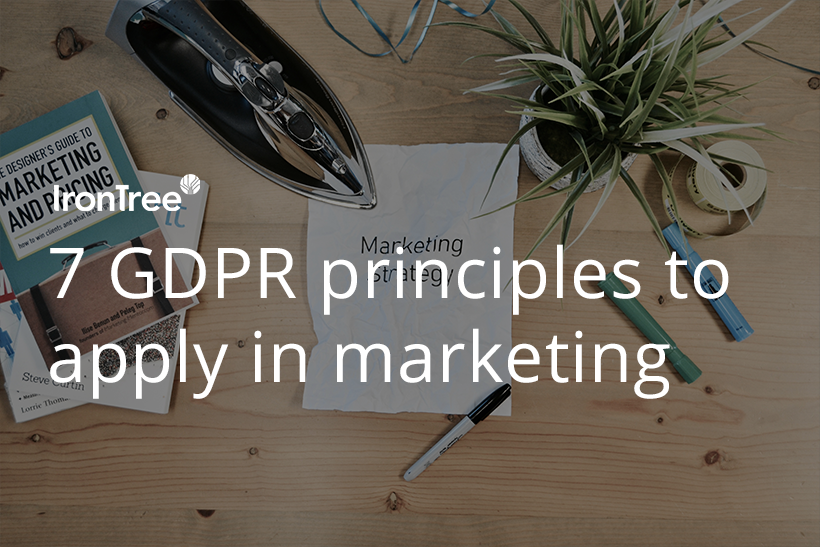 Gdpr marketing principles blog