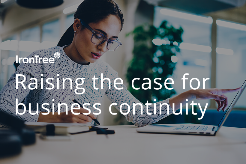 raising the case for business continuity