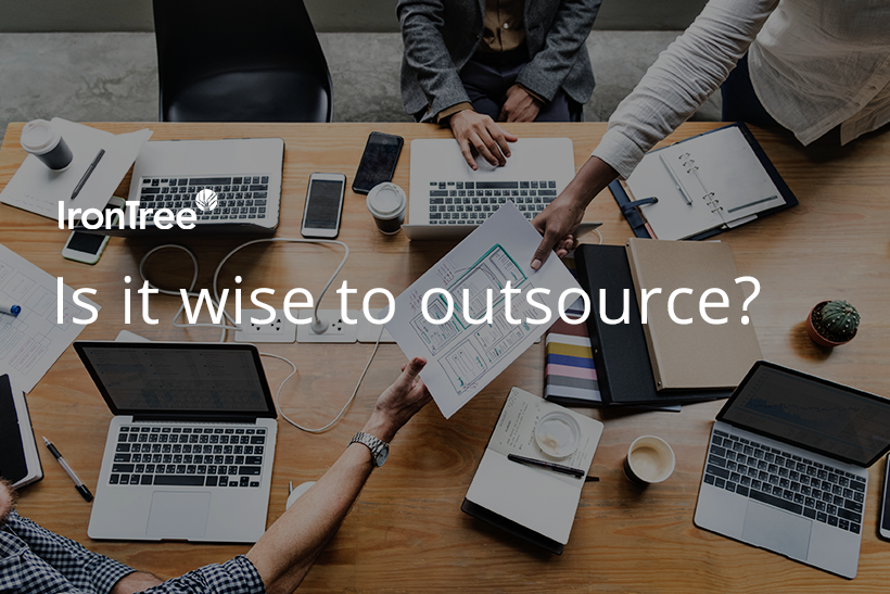 is it wise to outsource?