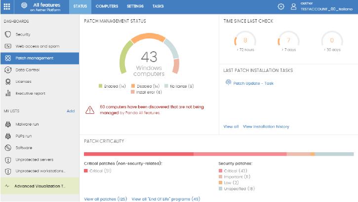 patch management screenshot 1